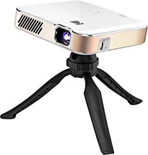 KODAK 柯达 Luma 450 便携式全高清智能投影仪 | Wi-Fi、蓝牙、HDMI 和 USB 兼容迷你家庭影院系统高达 151 英寸(约 381 厘米)| 1080p Native 分辨率 (4K),200 流明,3 小时播放 | 含三脚架