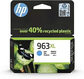 HP 惠普 963 原装打印机墨盒 Cyan XL 青色