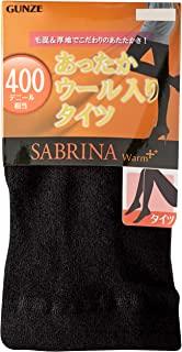 [郡是] 紧身裤 Sabrina 保暖加 温暖 400D 相当于 SQJ800 女士