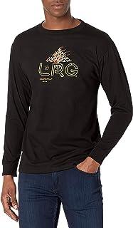 LRG 男式长袖T恤 Burning Bush 黑色 3X-Large