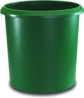 Runner Allrounder 回收箱,圆形,垃圾带手柄,坚固塑料,18 升 18 升 *
