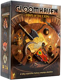 Cephalofair Games Gloomhaven 可移除贴纸套装 Jaws of the Lion