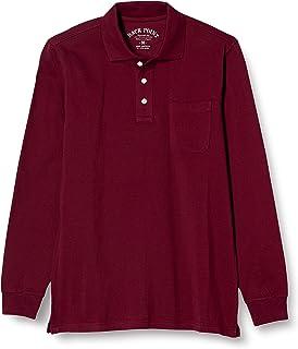 [Seshiel] *纯棉 Polo衫·长袖 代表男士大写字母 JK-274