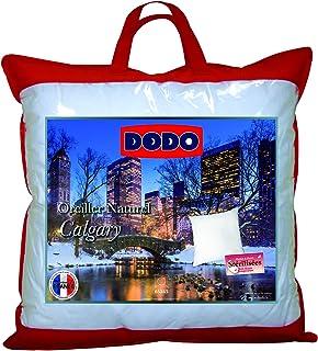 Dodo 64476 Calgary 枕头,鹅绒和鸭绒/羽毛,65 x 65 厘米,白色