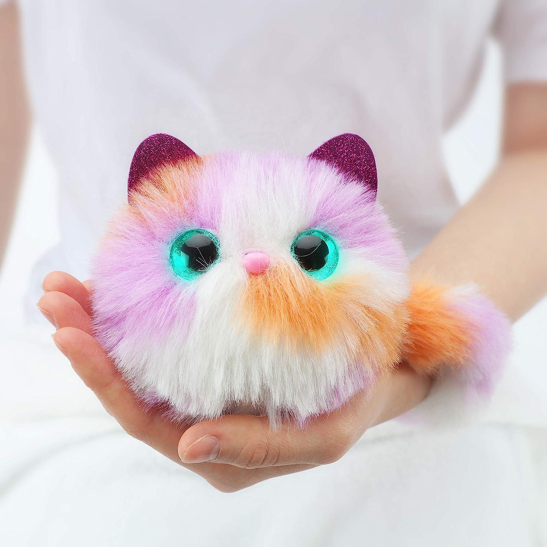 亚马逊销冠!触摸感应,会发光会撒娇:Pomsies Kali 惊喜猫互动毛绒玩具