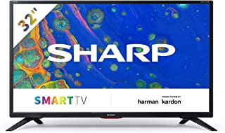 SHARP 夏普 32BC6E,HD Ready Smart LED 电视,81厘米(32英寸),Active Motion 200,三调谐器