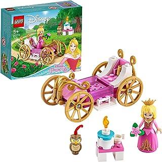 LEGO 43173 迪士尼公主奥罗拉皇家马车玩具组合,睡美人玩具