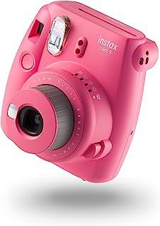 Fujifilm 富士 instax Mini 9 拍立得相机 - 火烈鸟粉 + 10张相纸套装