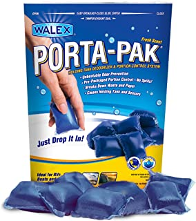 Walex TOI-91799 Porta-Pak Holding Tank Deodorizer, (Pack of 10)