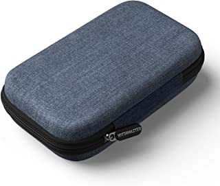 Yottamaster 便携式硬盘袋保护硬质 EVA 保护套便携旅行支架适用于 m.2 NVMe SATA 硬盘盒 U 盘、便携式 SSD、USB 数据线(仅盒装) - [B6]