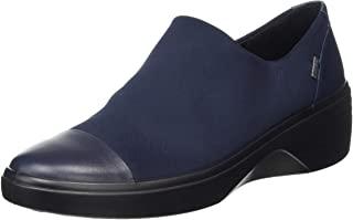 ECCO 爱步 女式 Soft 7 坡跟 Gore-tex 一脚蹬运动鞋
