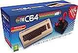 C64 迷你控制臺視頻深銀色 ( 歐洲進口 ) + 1 個游戲桿 + 64 個預裝