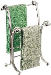 InterDesign York Lyra Bathroom Accessories, Satin