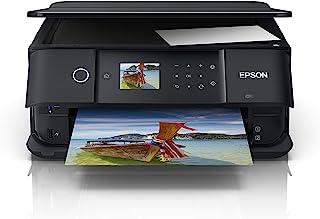 EPSON 爱普生 Expression Premium XP-6100 三合一多功能打印机(扫描,复印,WiFi,双面,6.1厘米显示屏,单墨盒,5色,DIN A4,支持Amazon Dash补货),黑色