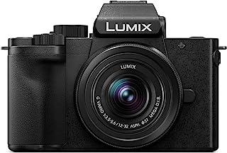 Panasonic 松下 Lumix DC-G110KEG-K 系统相机(20 MP 4K 图像稳定器 取景器 7.5 厘米 触摸 12-32 毫米 镜头 黑色 )