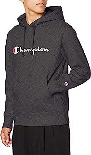 Champion 男士 连帽卫衣 毛圈布 草写logo 经典 基本款 C3-Q102