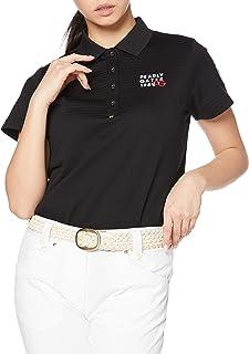 Perry Gate 短袖 Polo衫 褶皱条纹 C40/2×Pe300d / 055-1160208 女士