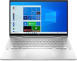 HP 惠普 ENVY x360 15-es0079ng (15.6英寸 / 全高清 IPS 触屏) 2合1 可变形(英特尔酷睿 i7 1165G7,16GB DDR4内存,1TB 固态硬盘,英特尔显卡,Windows 10)银色,指纹传感器