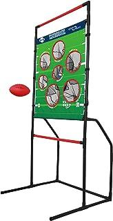 Sport Squad 2 合 1 足球和圆盘投掷 EndZone 挑战后院和草坪游戏,适合室内/室外使用