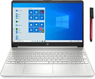2021 *新 HP 15 15.6 英寸 FHD 笔记本电脑,六核 AMD Ryzen 5 5500U 高达 4.0GHz(Beat i5-10500H),8GB DDR4 内存,256GB PCIe SSD,AC WiFi,蓝牙 5,Typ...