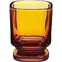 廣田硝子 玻璃杯 昭和现代咖啡 琥珀色 220毫升 MO-1021AMB