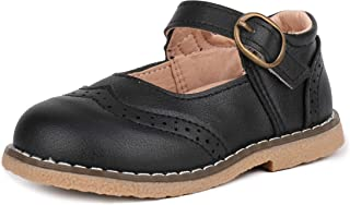 LONSOEN Mary Jane 女童正装鞋经典学校平底鞋
