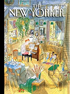 New York Puzzle Company - New Yorker The Piano Lesson - 1000 Piece Jigsaw Puzzle