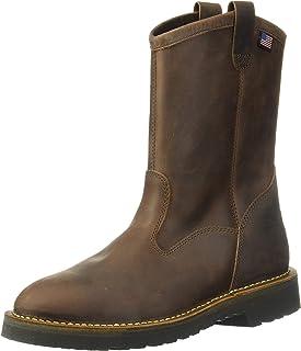 "Danner 丹纳 Bull Run Wellington 11"" 圆头钢头工装靴"
