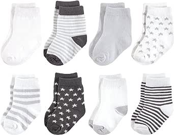 自然 touched 天然婴儿有机6件装棉质短袜