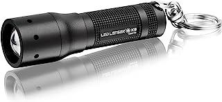 Ledlenser K3 钥匙圈强大的 LED 手电筒,带高级聚光点(黑色) - 礼品盒,8313