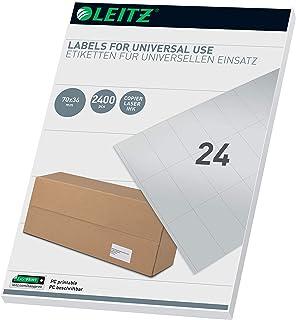 Leitz PC-可书写通用标签 70 × 36 毫米 白色 61790001