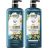 Herbal Essences 修复摩洛哥精油洗发水护发素套装 含天然来源成分,适用于染过秀发,BioRenew,20…