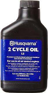 Husqvarna 610000156 50:1 低* 2 次循环油 2-1/2 加仑混合,6.4 盎司 6100001-56