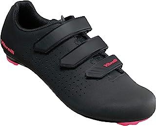 Vibrelli 女式 Peloton 自行车鞋 - 室内旋转锻炼公路自行车鞋 - 兼容所有鞋钉 - 外观三角洲、Shimano SPD、ARC - 女式自行车鞋