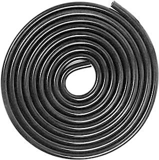 Shineyoo 硅胶真空管软管黑色真空软管卷高性能(10 英尺),内径 0.16 英寸(4 毫米),外径 0.35 英寸(9 毫米),壁厚 4 毫米