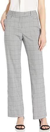 Tahari ASL 女士宽腿弹性腰带长裤