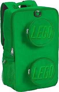 LEGO 乐高积木背包 绿色 均码