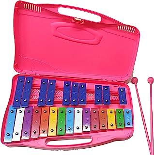 Alysée - MT25-C-PK 25 音符色金属琴 - 粉色