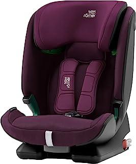 Britax Römer 儿童座椅 15 个月 - 12 岁 | 76-150 厘米 | ADVANSAFIX M i-SIZE 汽车座椅 Isofix Burgundy Red