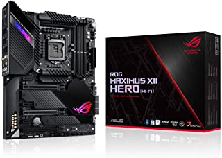 ASUS 华硕 ROG Maximus XII Hero Z490 ( WiFi 6 ) LGA 1200 ( Intel * 10 代 ) ATX 游戏主板(14 + 2 电源阶段,DDR4 4800 + 5Gbps LAN,Intel LA...