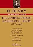 THE COMPLETE SHORT STORIES OF O. HENEY:欧·亨利短篇小说全集(英文原版,共13卷…