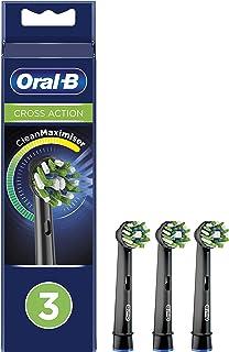 Oral-B 欧乐B Crossaction 替换刷头,采用CleanMaximiser技术,黑色