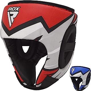 RDX 儿童拳击头盔、综合格斗训练、脸颊、额头和耳朵保护、泰拳头、跆拳道、拳击、武术头盔、空手道、跆拳道