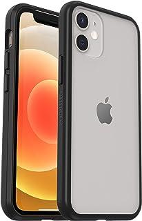 OtterBox Sleek Case - 透明、防摔保护套,适用于 Apple iPhone 12 mini,透明/黑色(零售包装)