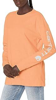 Carhartt 男士 K231 工作服标志长袖 T 恤(常规尺码)