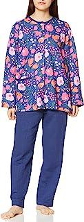 Wing/Wacoal 睡衣套装 和【plune】*款睡衣 长袖 长袖 长袖 Big 花 EP6083 女士