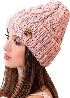 Braxton 女士针织帽 - 滑雪绳 冬季 保暖 *草 无檐小便帽 - 羊毛雪 户外帽