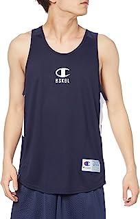 Champion 男士背心 抵御菌类 防臭 速干 防紫外线 单点标志 透气背心 篮球 CAGERS C3-TB343