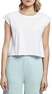 Urban Classics 女士*短裤 T 恤