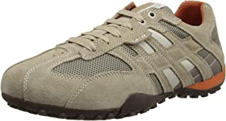 Geox Men's Snake Suede Fashion Sneaker
